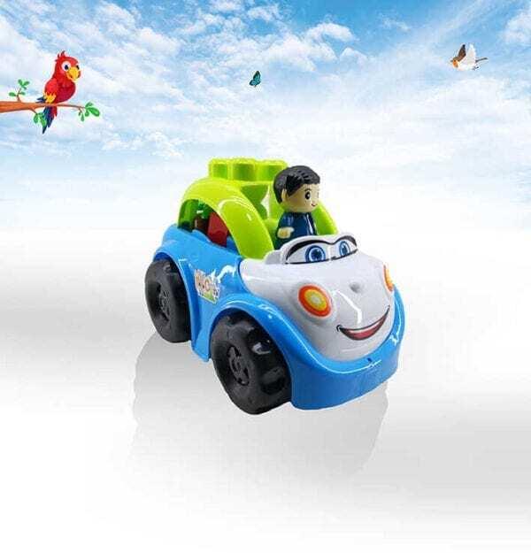 מכונית עם לגו